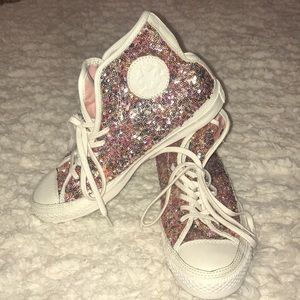 Converse Chuck multicolored sequined sneakers